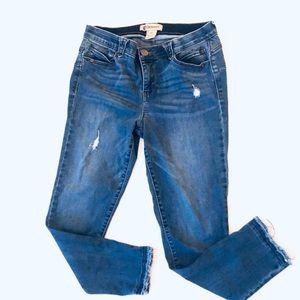"Democracy Ab ""solution"" Skinny Jeans Size 10"
